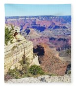 Grand Canyon21 Fleece Blanket