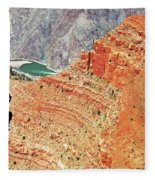 Grand Canyon36 Fleece Blanket