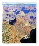 Grand Canyon4 Fleece Blanket