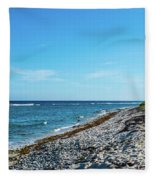 Grand Cayman Island Caribbean Sea 2 Fleece Blanket