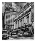 Grand Central At 42nd St - Mono Fleece Blanket