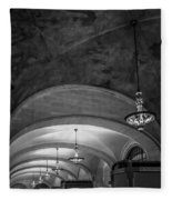 Grand Central Terminal - Arched Corridor Fleece Blanket