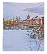 Grand Hotel Kempinski V4 Fleece Blanket