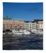 Grand Hotel Stockholm Fleece Blanket