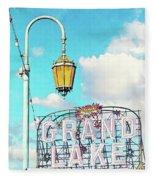 Grand Lake Merritt - Oakland, California Fleece Blanket