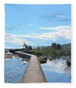 Grand Marais Break Fleece Blanket