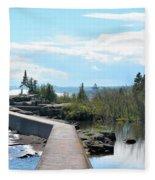 Grand Marais Breakwater Fleece Blanket