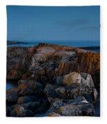 Grand Marais Lighthouse Fleece Blanket
