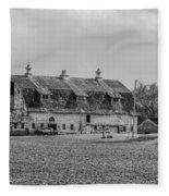 Grand Old Barn Fleece Blanket