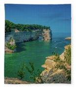Grand Portal Point Fleece Blanket