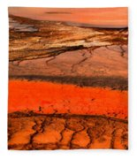 Grand Prismatic Patterns Fleece Blanket