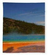 Grand Prismatic Pool II Fleece Blanket