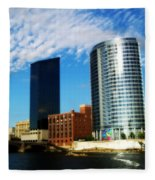 Grand Rapids Michigan Is Grand Fleece Blanket