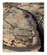 Grand Staircase, Escalante National Monument Fleece Blanket