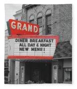 Grand Theatre Fleece Blanket