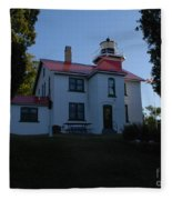 Grand Traverse Light House Fleece Blanket
