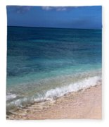 Grand Turk Ocean Beauty Fleece Blanket