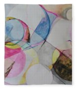 Grande' Circles Fleece Blanket