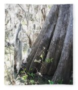 Grandfather Cypress Fleece Blanket