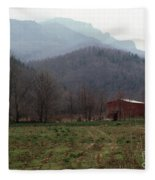 Grandfather Mountain Fleece Blanket