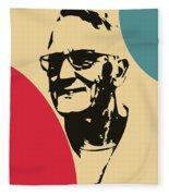 Grandfather Fleece Blanket