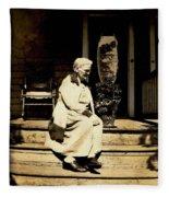 Grandma Jennie Fleece Blanket
