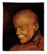 Grandpa Fleece Blanket
