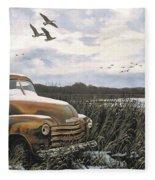 Grandpa's Old Truck Fleece Blanket