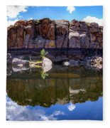 Granite Dells Reflection Fleece Blanket
