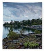 Granite Islands Fleece Blanket