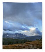 Granite Park Chalet - Glacier National Park Fleece Blanket