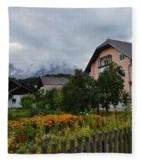Kranjska Gora Fleece Blanket