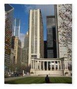 Grant Park Chicago Fleece Blanket