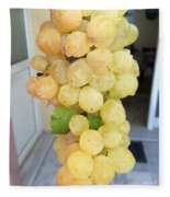Grape From Chios Mountains In Greece Fleece Blanket