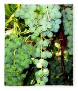 Grape Harvest Fleece Blanket