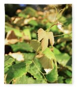 Grape Vine 3 Fleece Blanket