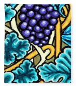 Grapes Fleece Blanket