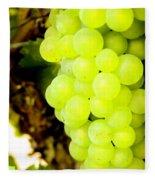 Grapes Fleece Blanket