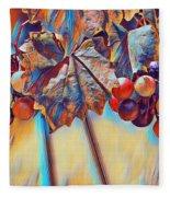 Grapevine Art Fleece Blanket