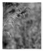 Grass Blade Fleece Blanket