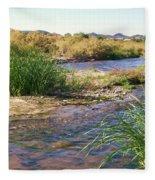 Grass Island Fleece Blanket