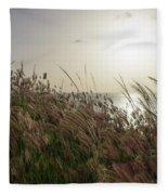 Grass Wave Fleece Blanket