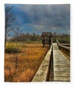 Grassy Glades Fleece Blanket