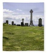 Grave Of Flora Macdonald Fleece Blanket
