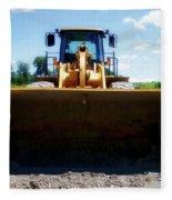 Gravel Pit Cat 972g Wheel Loader 01 Fleece Blanket
