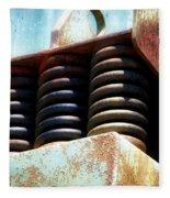 Gravel Pit Warrior Power Screen 05 Fleece Blanket