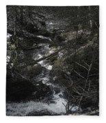 Gravity And Water Fleece Blanket