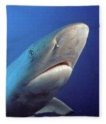 Gray Reef Shark Fleece Blanket