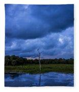 Grean Cay Storm 4 Fleece Blanket