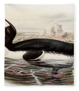 Great Auk Fleece Blanket